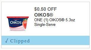 Dannon Oikos Yogurt Singles