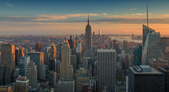 New York - Empire State-panorama