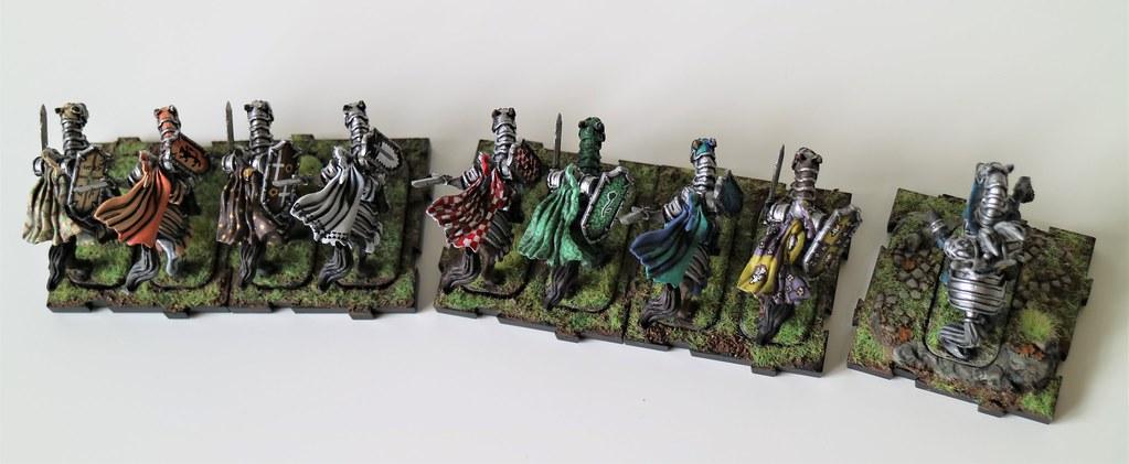Runewars Miniatures Oathsworn Cavalry