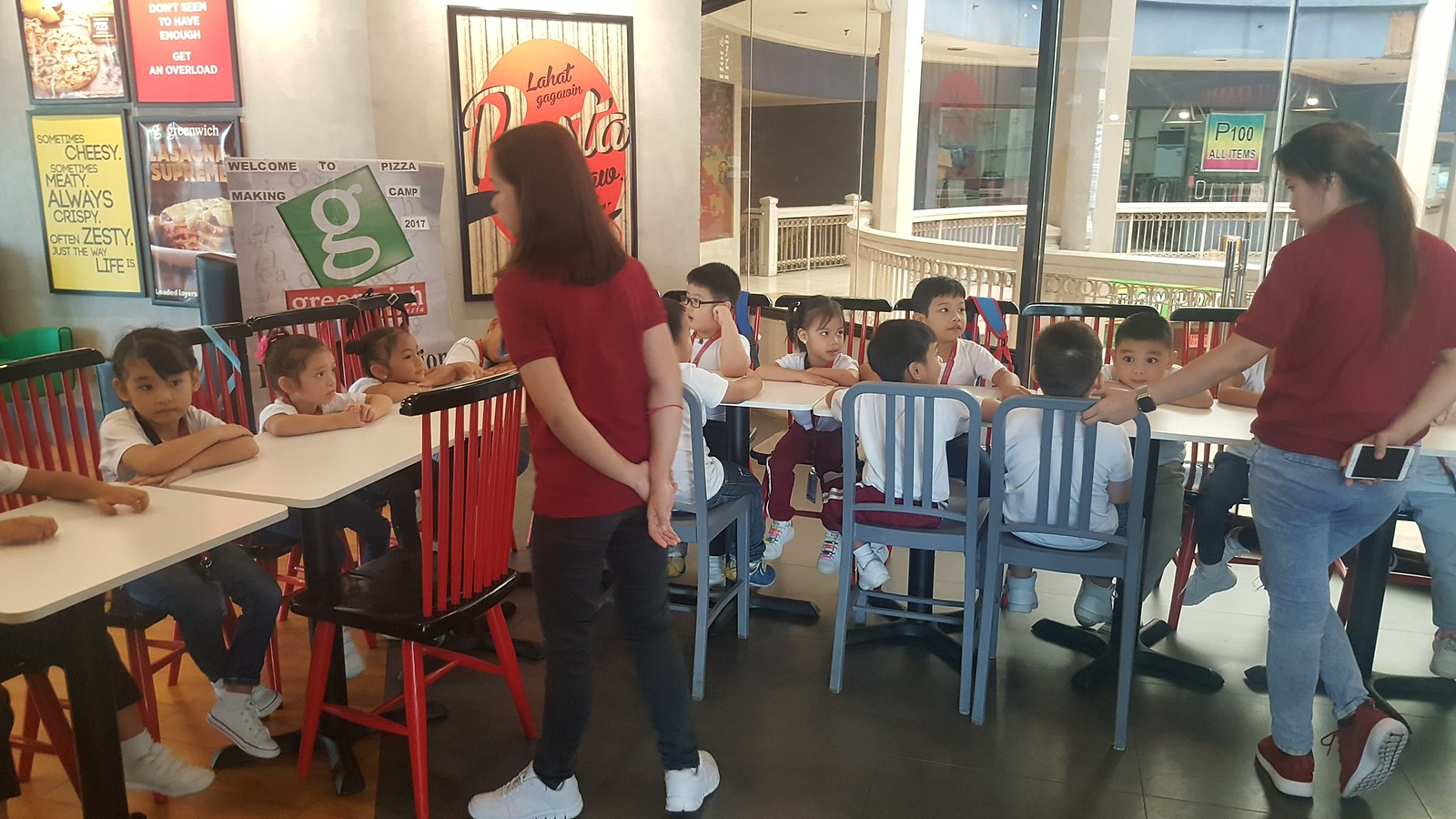 Greenwich Pizza Camp (Preschool) Tal