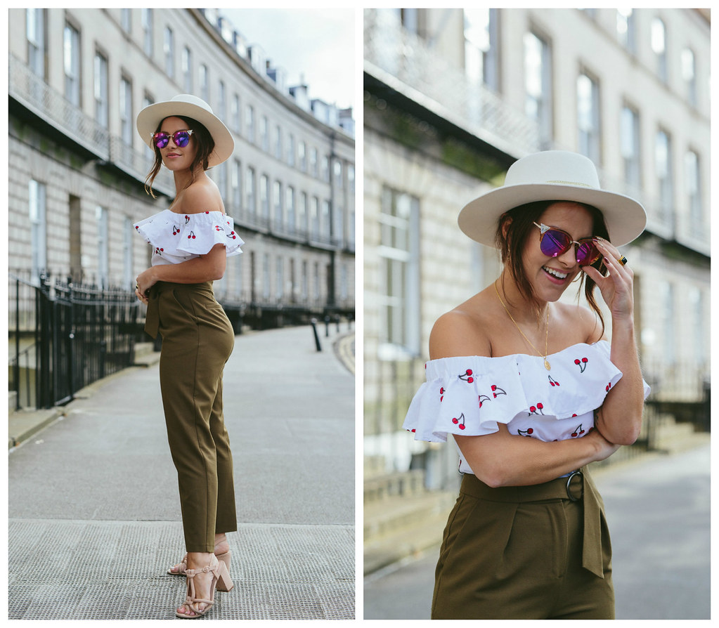 Topshop Cherry Top The Little Magpie