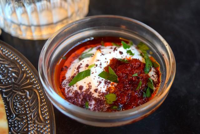 Yogurt, Harissa & Sumac at Bala Baya, Southwark | www.rachelphipps.com @rachelphipps