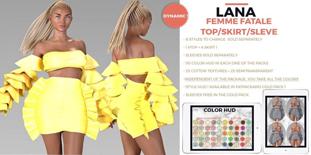 #LANA-Femme Fatale @Cosmopolitan - SecondLifeHub.com