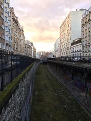 Rue Leibniz, Petite Ceinture - Paris