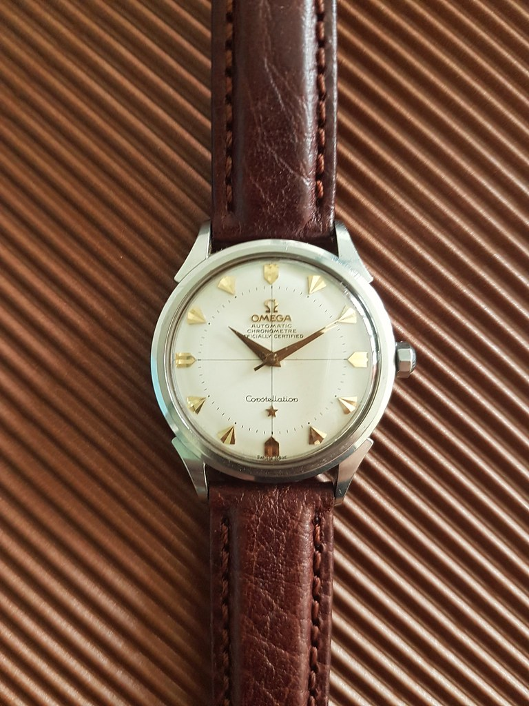 1954 Omega Constellation bumper automatic
