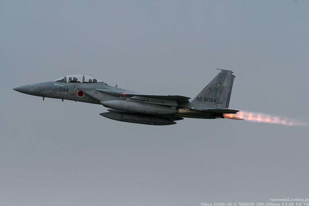 千歳基地航空祭2017 F-15DJ