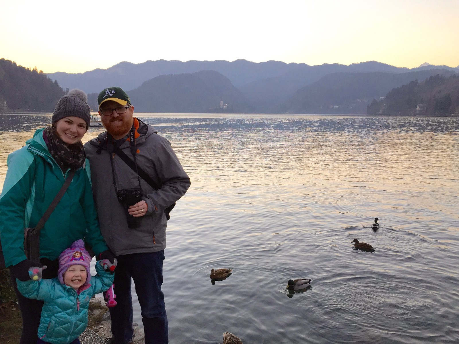 Paul, Amanda, & Charlotte