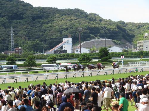 小倉競馬場のダートコース