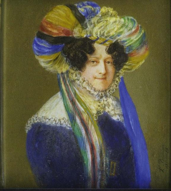 Л.Х. Брамсон, 1828 г, неизв дама