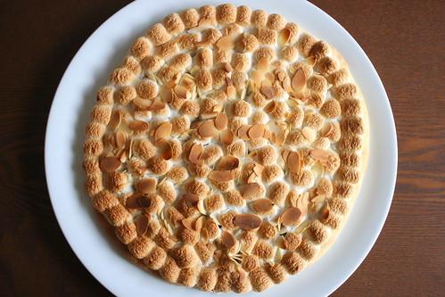 マシュマロ・チョコレート・ピザ