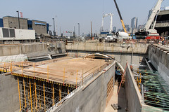 Completing the south end of the SR 99 tunnel