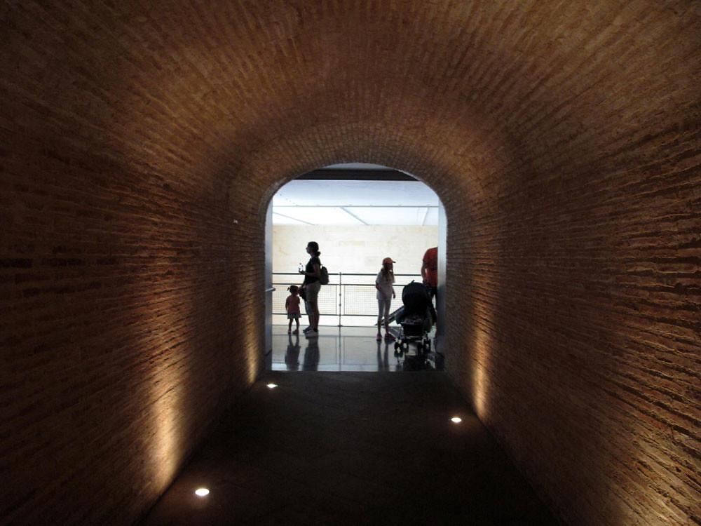 museo teatro cartagena_patrimonio_rafael moneo_sala cripta santa maría la vieja_restauración