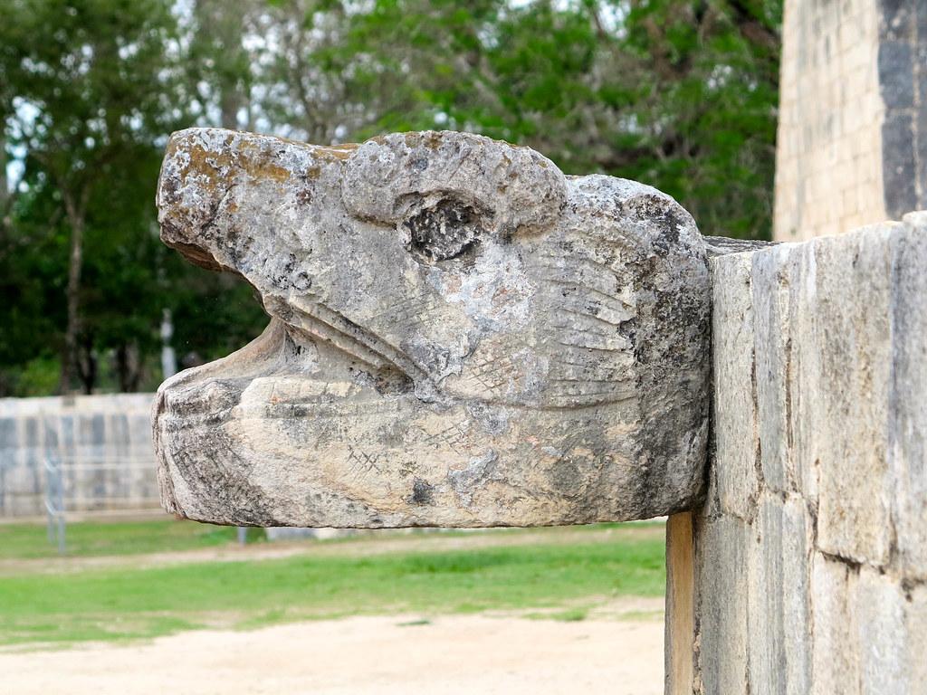Interior de Chichén Itzá