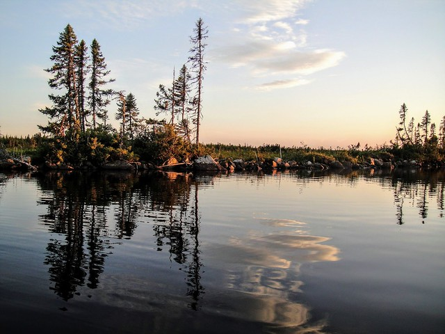 Reflections on Deadman's Pond, Sony DSC-T90