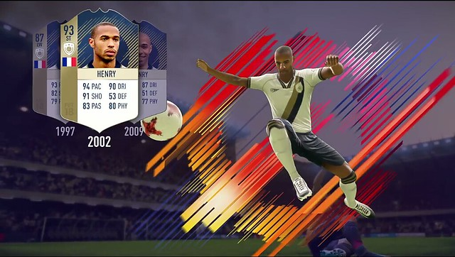 FIFA 18 Henry Icon Card