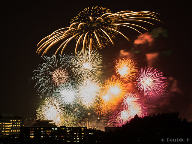 distant view of Biwako Fireworks Festival 2017 (14)