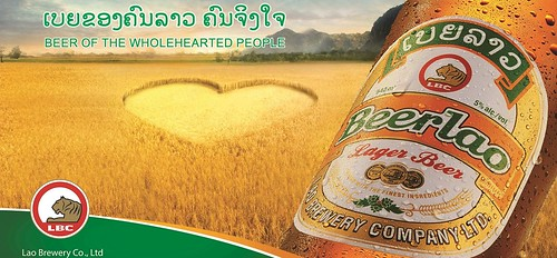Laos: Beerlao. From A Beer Tour of Asia