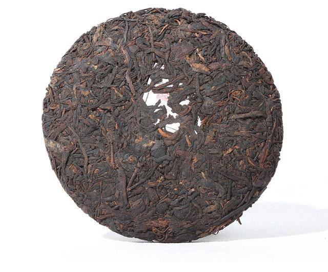 Free Shipping 2015 Chen Sheng Hao (RenShengJiaMing)Cake Beeng 200g Meng Hai Organic Pu'er Ripe Tea Cooked Shou Cha Weight Loss Slim Beauty