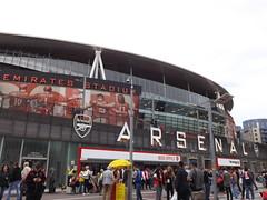 Outside The Emirates Stadium