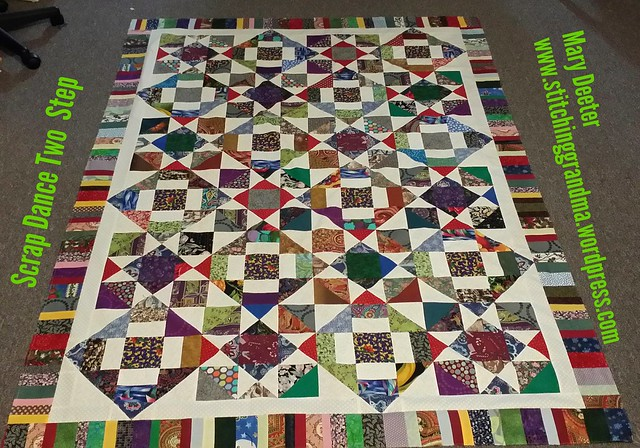 Scrap Dance Two-Step Mystery Quilt  Along.