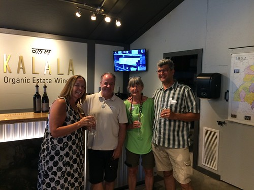 Kelowna wine tour with Heather McNair and John Huckle