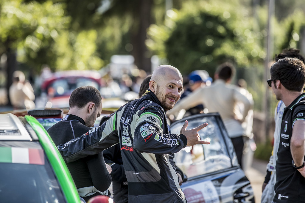 REMENNIK Sergei (RUS) ROZIN Mark (RUS) Mitsubishi Lancer Evo X ambiance Portrait  during the 2017 European Rally Championship ERC Rally di Roma Capitale,  from september 15 to 17 , at Fiuggi, Italia - Photo Gregory Lenormand / DPPI