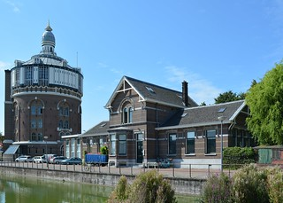DWL Watertoren met Laboratorium gebouw