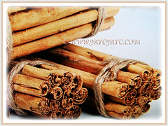 Bundles of curled cinnamon of Cinnamomum verum (Cinnamon, True Cinnamon, Ceylon/Cassia Cinnamon, Cinnamon Bark Tree, Kayu Manis in Malay), 17 Aug 2017