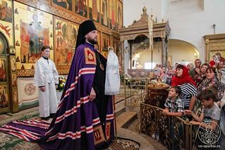 Литургия в Хутынском монастыре 700