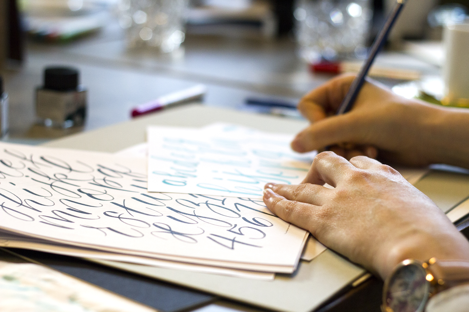 Intro to Brush Lettering Workshop Review