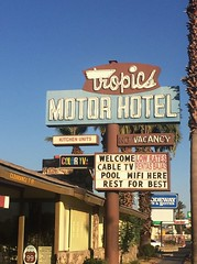 TROPICS MOTOR HOTEL INDIO CA.
