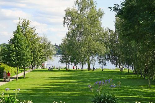 Le jardin de la villa Liebermann (Berlin)