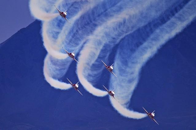 LSGS/SIR: BreitlingAirShow - PatrouilleSuisse Northrop Tiper F5E II