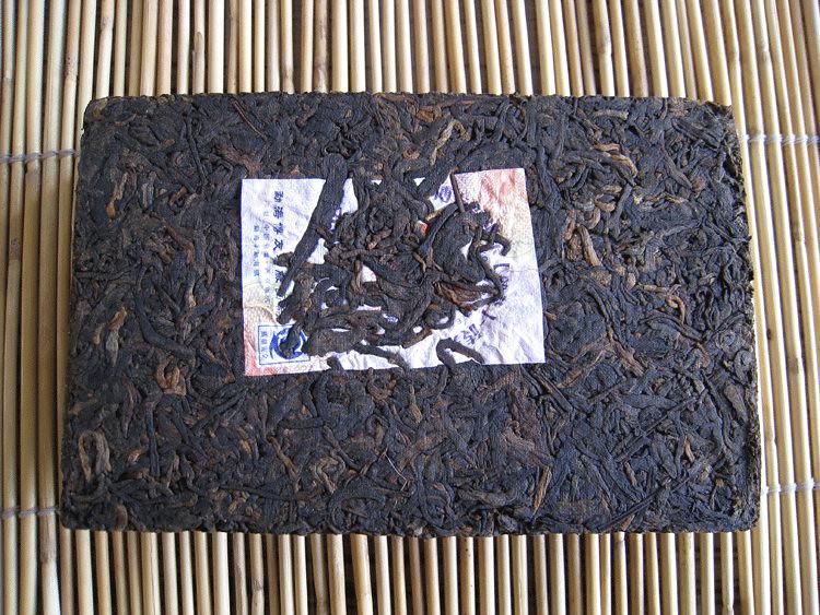 Free Shipping 2007 BoYou 0606M Zhuan Brick 250g China YunNan MengHai Puer Puerh Ripe Tea Shou Shu Cha