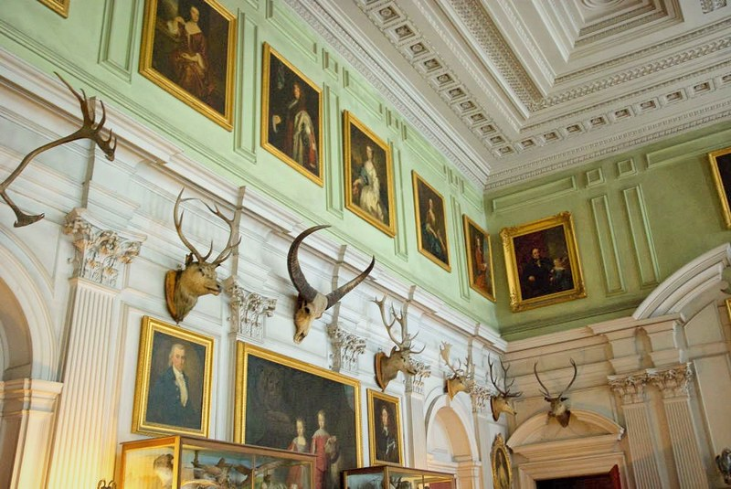 The Salon at Calke Abbey, Derbeyshire. Credit Thomas Quine