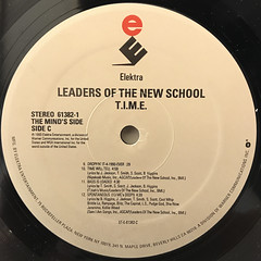 LEADERS OF THE NEW SCHOOL:T.I.M.E(LABEL SIDE-C)