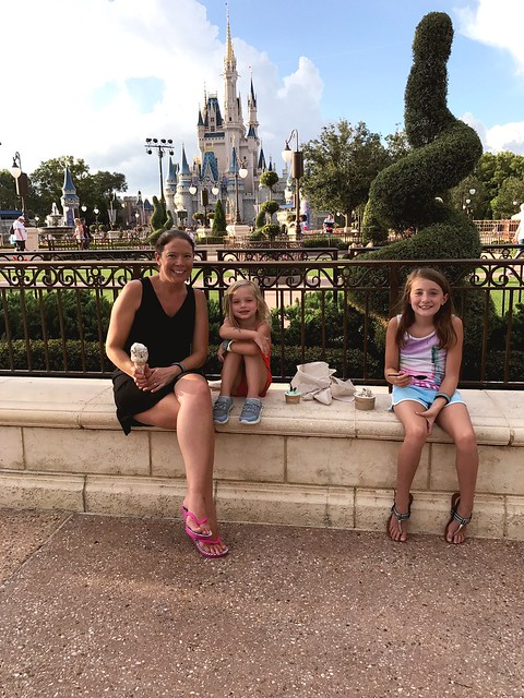 Disney day 2- resort in afternoon and back to magic kingdom after dinner for fireworks