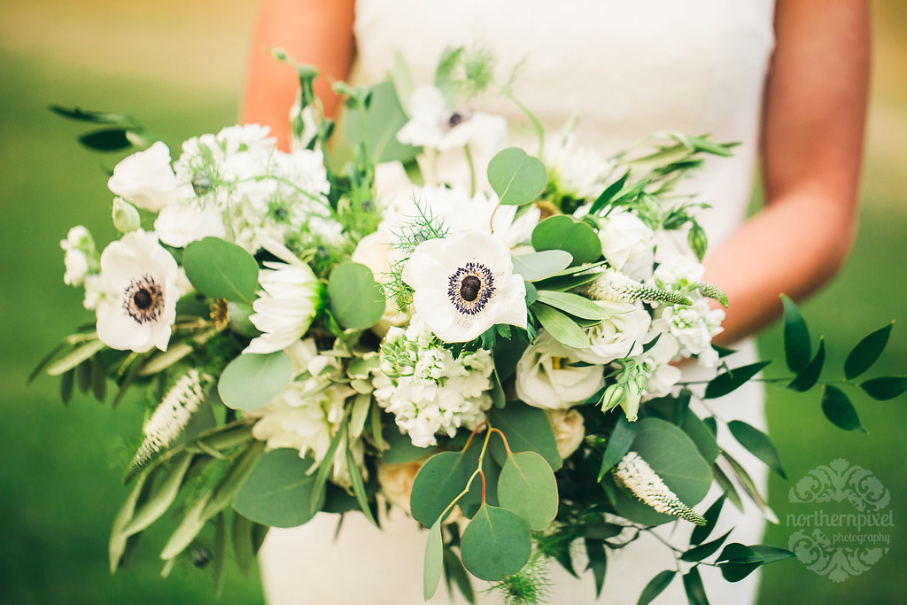 Bridal Bouquet, by Something Blue Floral Design