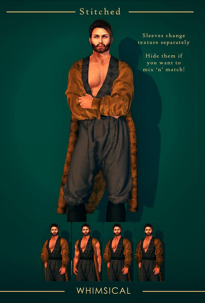 Belil Coat @ Whimsical - SecondLifeHub.com