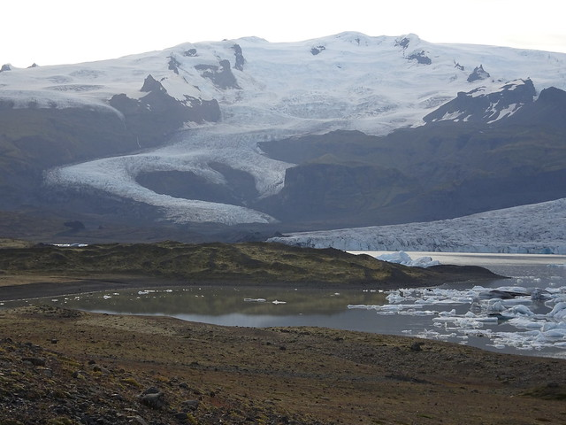 A Toe of the Vatnajolkull Glacier