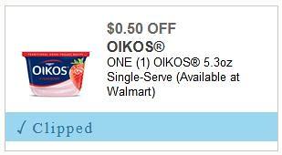New Dannon Oikos Coupon