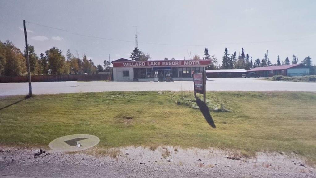 Willard Lake Resort Motel. #ridingthroughwalls #xcanadabikeride #googlestreetview #ontario