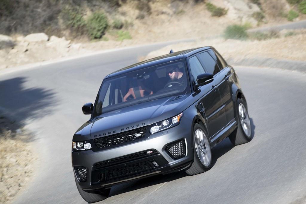 2017 Range Rover Sport SVR: Voyage to Monterey Car Week