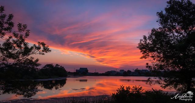Sunrise over Bartlett Pond, Fujifilm X-T2, XF18-135mmF3.5-5.6R LM OIS WR