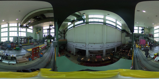 NRU Reactor: Top of Reactor