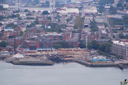Clippership Wharf Aerial View