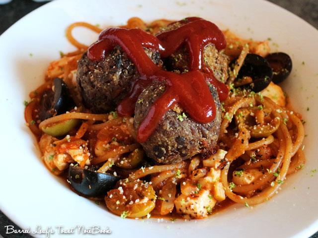 番茄羅勒橄欖豆腐義大利麵 (8)