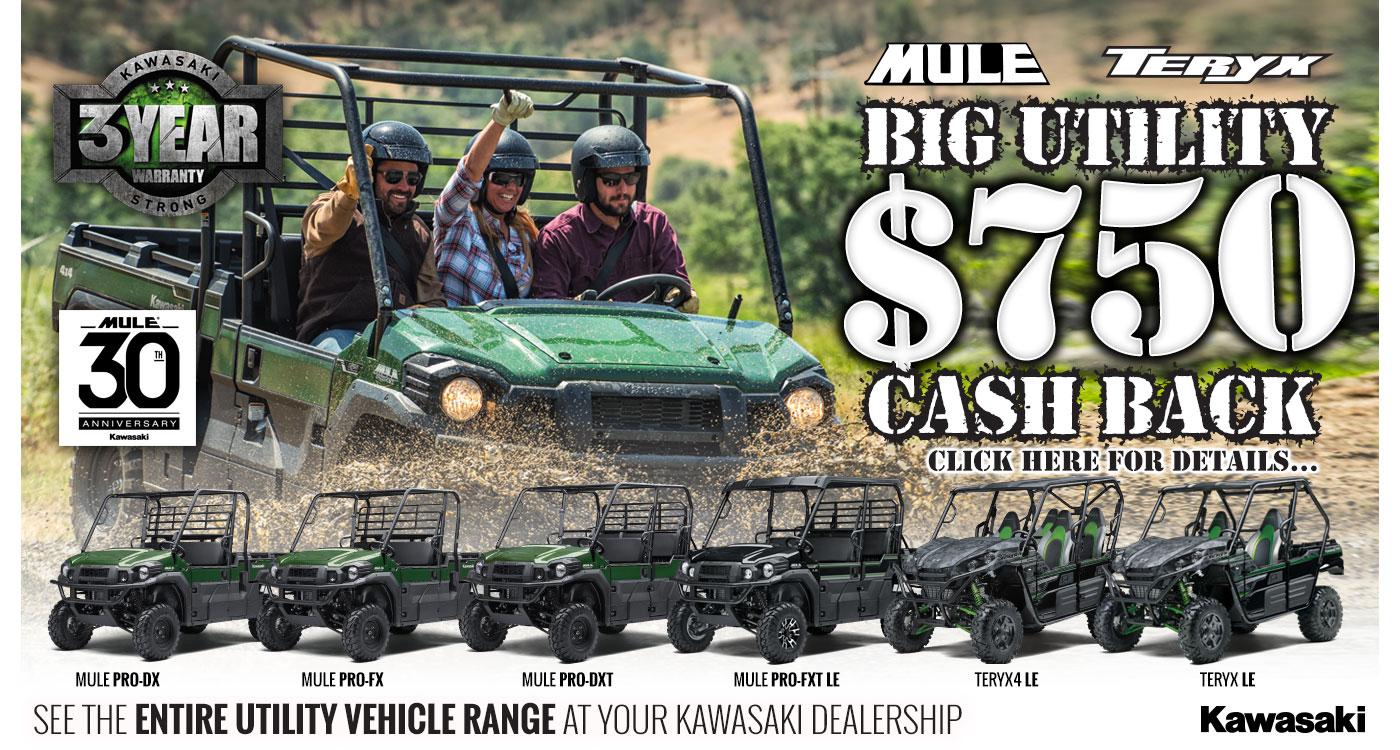 Big Utility $750 Cashback