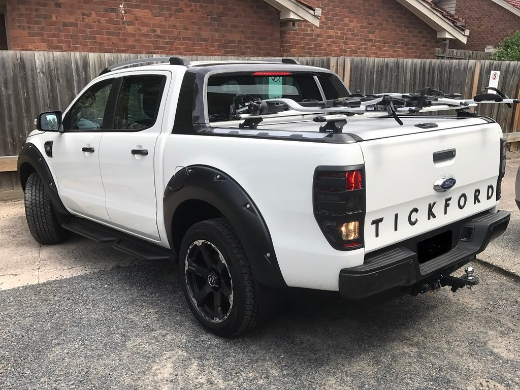Ford Ranger Wildtrak Tickford Edition With Rhino Rack Cros