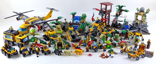 LEGO City Jungle All Sets 34